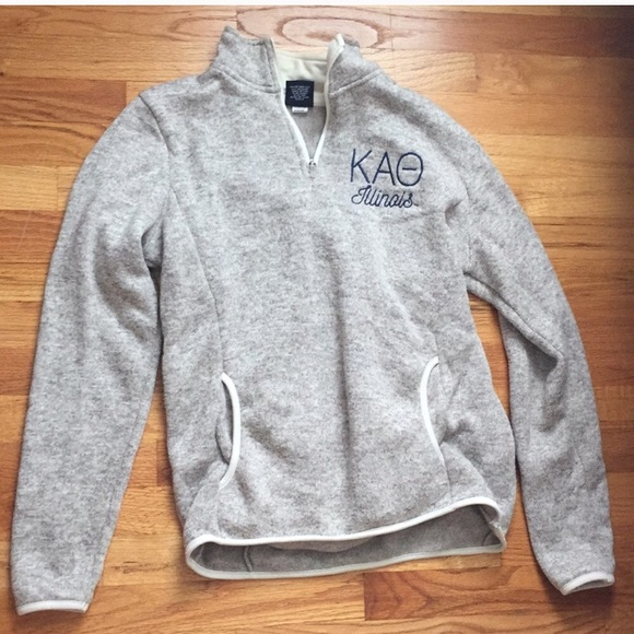 Charles River Apparel Tops - Theta 3/4 Zip